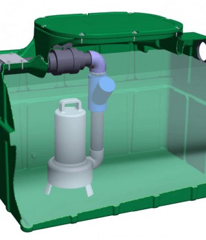 Pompe de relevage pour fosse septique
